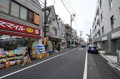 京王井の頭線・永福町駅前商店街の様子。(2011-07-26,共用部,ENVIRONMENT,1F)