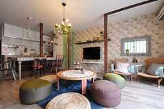 床暖房付きなので、冬でもポカポカ。(2012-03-16,共用部,LIVINGROOM,1F)