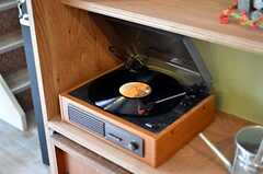 レコードも聴くことが出来ます。(2012-03-16,共用部,OTHER,1F)