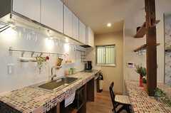 キッチン全体の様子。(2012-03-16,共用部,KITCHEN,1F)