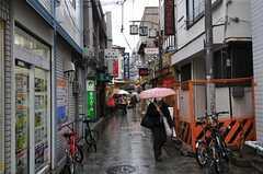 JR各線・阿佐ヶ谷駅周辺の路地。飲食店が多いです。(2013-03-11,共用部,OTHER,1F)