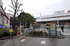 JR各線・阿佐ヶ谷駅前の様子。(2013-03-11,共用部,ENVIRONMENT,1F)