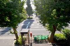 窓からの景色。目の前は青梅街道です。(203号室)(2015-11-05,専有部,ROOM,2F)
