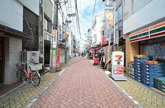 東京メトロ丸ノ内線・新高円寺駅周辺の商店街の様子。(2015-11-05,共用部,ENVIRONMENT,1F)
