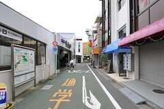 京王井の頭線・富士見ヶ丘駅前の様子。(2012-07-20,共用部,ENVIRONMENT,1F)