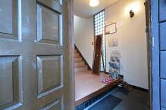 正面玄関から見た内部の様子。(2016-02-26,周辺環境,ENTRANCE,1F)