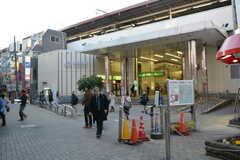 各線・西荻窪駅の様子。(2016-02-26,共用部,ENVIRONMENT,1F)