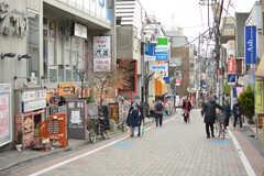 京王井の頭線・久我山駅前の商店街。(2021-01-05,共用部,ENVIRONMENT,1F)
