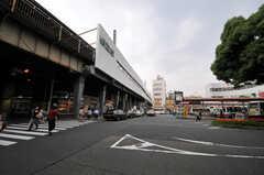 各線・阿佐ヶ谷駅の様子。シェアハウスは高円寺駅と阿佐ヶ谷駅の間にあります。(2011-06-14,共用部,OTHER,1F)