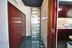 内部から見た正面玄関の様子。(2009-03-02,周辺環境,ENTRANCE,2F)