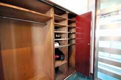 靴箱の様子。(2009-03-02,共用部,OTHER,2F)