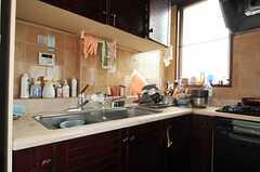 キッチンの様子2。(2013-06-18,共用部,KITCHEN,2F)