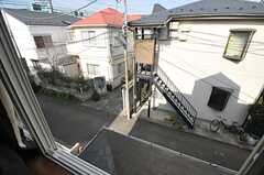 窓から見た外の景色。(201号室)(2014-02-03,専有部,ROOM,2F)