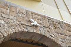 小鳥がパタパタ。(2012-09-21,共用部,OUTLOOK,1F)