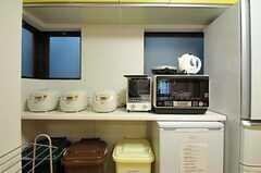 キッチン家電の様子。(2012-09-21,共用部,KITCHEN,2F)
