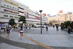各線・錦糸町駅の様子。(2012-09-21,共用部,ENVIRONMENT,1F)