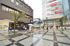 各線・錦糸町駅前の様子。(2015-03-09,共用部,ENVIRONMENT,1F)