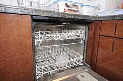 食洗機の様子。(2009-10-29,共用部,OTHER,4F)