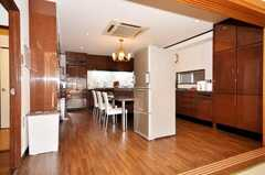 シェアハウスのキッチンの様子2。(2009-10-29,共用部,OTHER,4F)