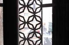 ベランダの様子。(402号室)(2009-10-30,専有部,ROOM,4F)