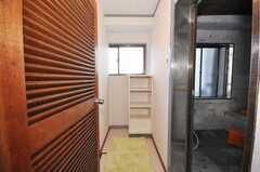 脱衣室の様子。(2009-10-30,共用部,BATH,5F)