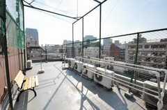 屋上の様子。(2009-10-30,共用部,OTHER,6F)