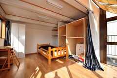 専有部の様子。屋上にあるので日当たりは最高。(601号室)(2009-10-30,専有部,ROOM,6F)