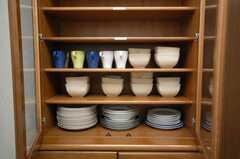 食器棚の様子。(2008-11-07,共用部,OTHER,1F)
