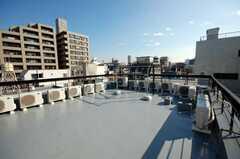 屋上の様子。(2008-11-07,共用部,OTHER,4F)