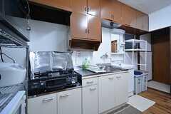 キッチンの様子3。(2015-03-11,共用部,KITCHEN,1F)