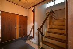 階段の様子。(2015-03-11,共用部,OTHER,3F)
