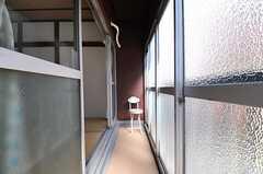 サンルームの様子2。(2013-05-07,共用部,LIVINGROOM,2F)