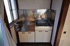 ミニキッチン付きです。(203号室)(2013-05-07,専有部,ROOM,2F)