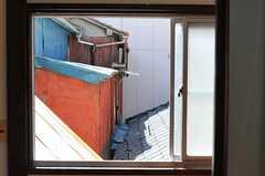 廊下の窓からの景色。(2013-05-07,共用部,OTHER,2F)