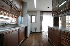 キッチンの様子2。(2013-10-07,共用部,KITCHEN,2F)