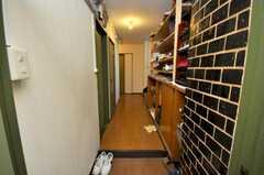 廊下の様子。(2009-03-10,周辺環境,ENTRANCE,2F)