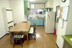 シェアハウスのラウンジの様子。(2005-08-29,共用部,LIVINGROOM,2F)