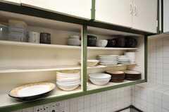 食器棚の様子。(2009-03-10,共用部,OTHER,2F)