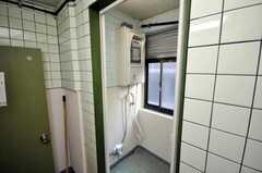シャワールームの様子。(2009-03-10,共用部,BATH,2F)