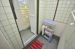 脱衣室の様子。(2009-03-10,共用部,BATH,3F)