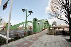 都営大江戸線蔵前駅からシェアハウスへ向かう道の様子。(2009-03-10,共用部,ENVIRONMENT,1F)
