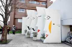都営大江戸線蔵前駅近くのオブジェ。(2009-03-10,共用部,ENVIRONMENT,1F)