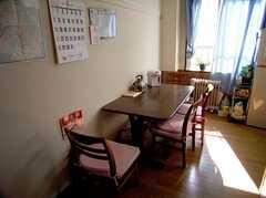 ラウンジの様子。(2005-08-29,共用部,LIVINGROOM,3F)