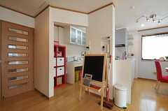 キッチンの様子。(2012-02-28,共用部,KITCHEN,2F)