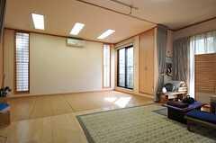 1階のオーナーさん宅にある日本舞踊の舞台の様子。(2012-02-28,共用部,OTHER,1F)