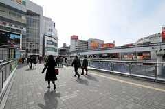 各線・立川駅周辺の様子。(2012-02-28,共用部,ENVIRONMENT,1F)