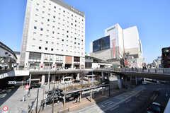 各線・立川駅の様子。(2018-02-15,共用部,ENVIRONMENT,1F)
