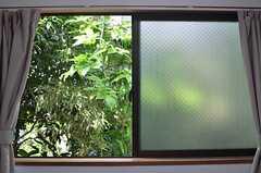 窓の外は一面の緑。(108号室)(2014-05-13,専有部,ROOM,1F)