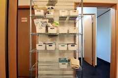 バスグッズや洗剤などを置いておけます。(2014-05-13,共用部,OTHER,2F)