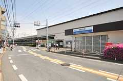 西武拝島線・武蔵砂川駅の様子。(2014-05-13,共用部,ENVIRONMENT,1F)